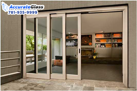 Foster Your Décor with Frosted Glass Door