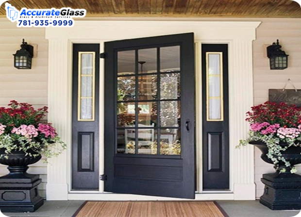Make the store appealing to customers with stylish doors