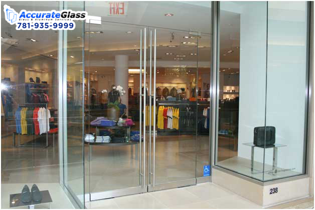 When one is renovating washroom then it is best to consider glass doors instead of curtains