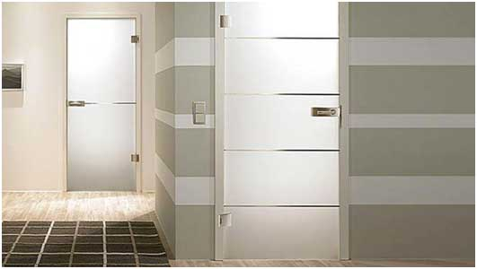 An Overview Of A Bathroom Door